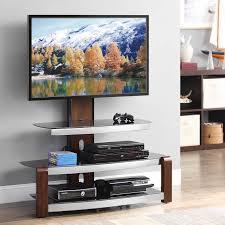 Tv Stands Z Line Spar Glass And Metal Tv Stand Hayneedle
