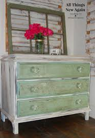 Country Chic Bedroom Furniture Shabby Chic Dresser Green And White Painted Dresser Vintage