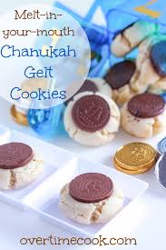 hanukkah cookies melt in your hanukkah gelt cookies overtime cook