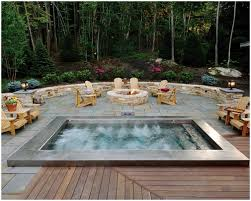 backyard tub designs home outdoor decoration