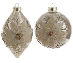 chagne antiqued ornament by raz imports the patch