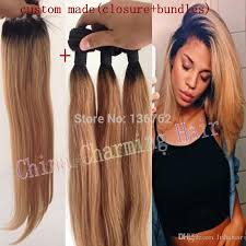 ombre hair weave african american ombre hair extensions 1b 27 honey blonde ombre dark root virgin