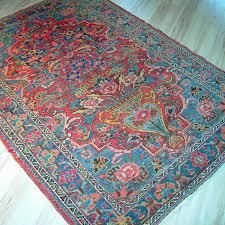 antiker orientteppich vasen teppich 205x148 perserteppich rug