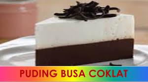 cara membuat puding enak dan murah resep cara membuat puding busa coklat susu enak praktis sederhana