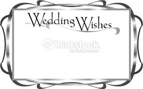 wedding wishes clipart squiggly border 78