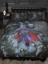 king size bed loups garou alchemy gothic duvet quilt cover