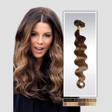 ombre extensions two color ombre 4 6 clip in peruvian hair extensions