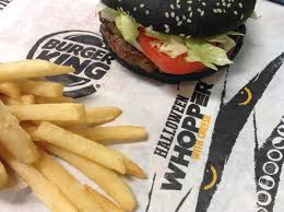 bk halloween whopper burger king gave customers a black surprise u2026but its green result