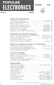 table of contents generator 1959 popular electronics table of contents rf cafe