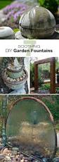 landscaping ideas for privacy garden fountains fountain and