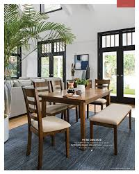 living spaces dining table set living spaces fall 2017 patterson 6 piece dining set
