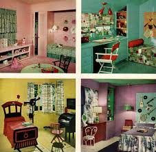 1950s bedroom chronically vintage four marvelously colourful 1950s children s