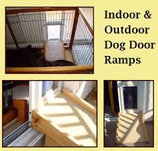 Interior Pet Door For Cats Custom Pet Ramps U0026 Steps