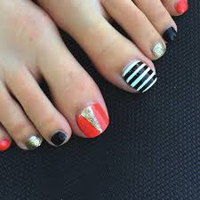 23 black toe nail art designs ideas design trends premium