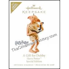 2010 gift for dobby harry potter limited quantity hallmark