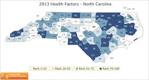 North Carolina Map North Carolina Rankings Data County Health Rankings U0026 Roadmaps