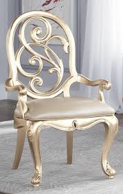 paint the dining table chairs a metallic shimmery color hmm
