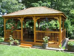 Best PergolaGazebo Images On Pinterest Gazebo Ideas Back - Gazebo designs for backyards