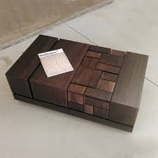 walnut coffee table with open shelf tables r thippo