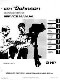 1971 johnson 2hp outboards service manual pdf carburetor gasoline