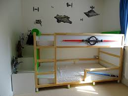 Bunk Bed Shelf Ikea Kura Trofast Stuva Bed Hack