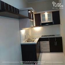 Daftar Harga Kitchen Set Minimalis Murah Desain Kitchen Set Minimalis Dapur Kecil Loka Furniture