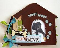 dog scrapbook album dog album puppy album pet scrapbook dog bone por sandysscrapbooks