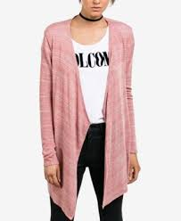 wrap cardigan sweater volcom juniors oh boy draped wrap cardigan sweaters juniors