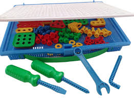 construction building toys tool kit complete preschool screwing