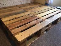 pallet bed home u0026 garden furniture for sale gumtree