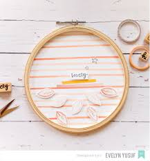 american crafts studio blog embroidery hoop tutorial by evelyn yusuf