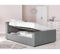 Grey Ottoman Uk by Buy Collection Enrique Double Ottoman Bed Frame Grey At Argos Co