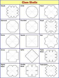 interactive notebook templates easy to cut clam shell pack 15