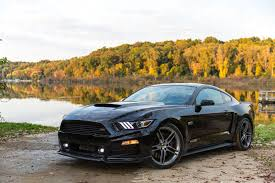 ford mustang 2015 black the 2015 roush ford mustang cranks the way up