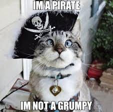 Grumpy Meme - im a pirate im not a grumpy meme spangles 18416 memeshappen