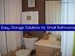 bathroom organization ideas for small bathrooms easy storage solutions for small bathrooms essentially