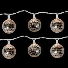 disco light bulb home depot brite star 10 light disco ball clear light set set of 2 96 612 20