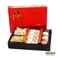 la cuisine de ma m鑽e 奧瑪烘焙 2018幸福來了春節禮盒 附禮袋 1盒起 gomaji