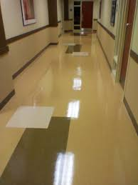Gym Flooring For Garage by Flooring Beautiful Garage Floor Design With Vct Tile In Black And