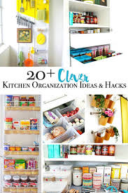 Clever Kitchen Ideas 20 Plus Clever Kitchen Organization Ideas And Hacks Major Hoff