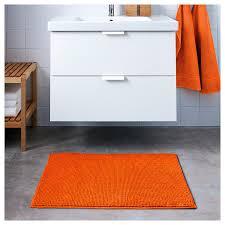 amazon com toftbo bath mat orange 60x90 cm ultra soft