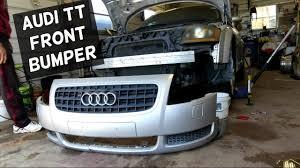 2001 audi tt front bumper cover audi tt front bumper cover removal replacement