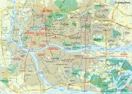 Guangzhou Subway Map by Guangzhou Tourist Map Guangzhou Maps China Tour Advisors