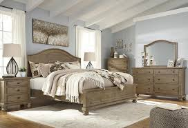 trishley panel bedroom set by ashley home gallery stores
