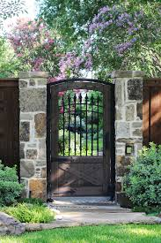gate ideas with rock l andscape l andscape traditional and