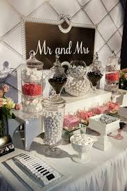 mr mrs wedding table decorations wedding candy table candy table for wedding ideas best 25 wedding