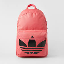 adidas classic trefoil backpack light pink classic trefoil backpack