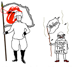 Rolling Stones Meme - the rolling stones vs the beatles 4chan flag bearers know your meme