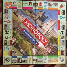 Monopoly Map Canterbury Monopoly Canterbury