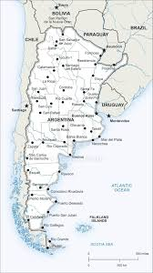 Bariloche Argentina Map Vector Map Of Argentina Political One Stop Map